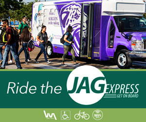 Ride the JagExpress