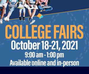 College Fairs October 18-21