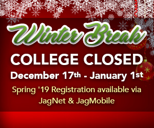 Holiday Hours - Decemeber 17-19