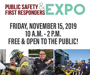 Public Safety & First Responders Expo - November 28 - 10am-2pm